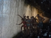 Canaima - podchádzame vodopád Hacha