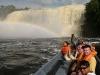 Canaima - vodopád Hacha, plavba v božskej lagúne