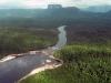 Canaima - čierne vody rieky Carrao