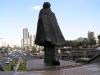 Caracas - Simon Bolívar kráčajúci stáročiami