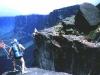 Vertikálna Amazónia I. - začiatok zlanenia vodopádu Salto Angel