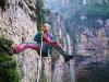 Vertikálna Amazónia II. - odvážny paraglider Maroš Kočan sa tu naučil zlaňovať