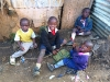 Nairobi, deti slamu