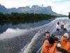 Canaima - plavba proti prúdu rieky Carrao