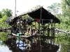 Delta Orinoco - plafitos, obydlie domorodcov