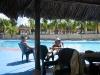 Delta Orinoco - pred výjazdom do delty trocha relaxu