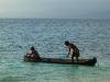 Panama, súostrovie San Blas, indiánska osada Kunov
