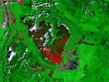 Vertikálna Amazónia I. - satelitný záber stolovej hory Auyán Tepuí